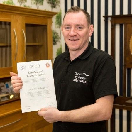 Daniel Fitzpatrick Master Wood Craftsman